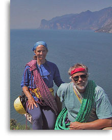 Karen and R.L. Stolz, Mountain Guides
